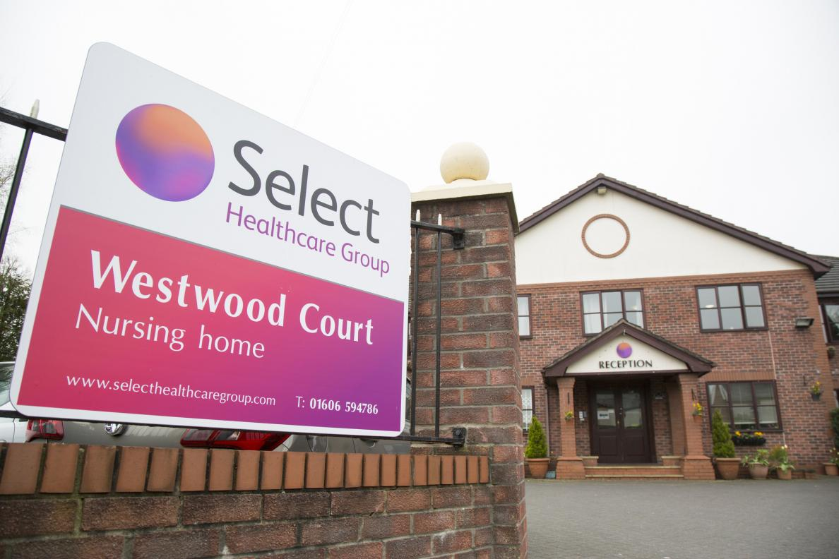 Cheshire nursing care homes by select healthcare group for Select home