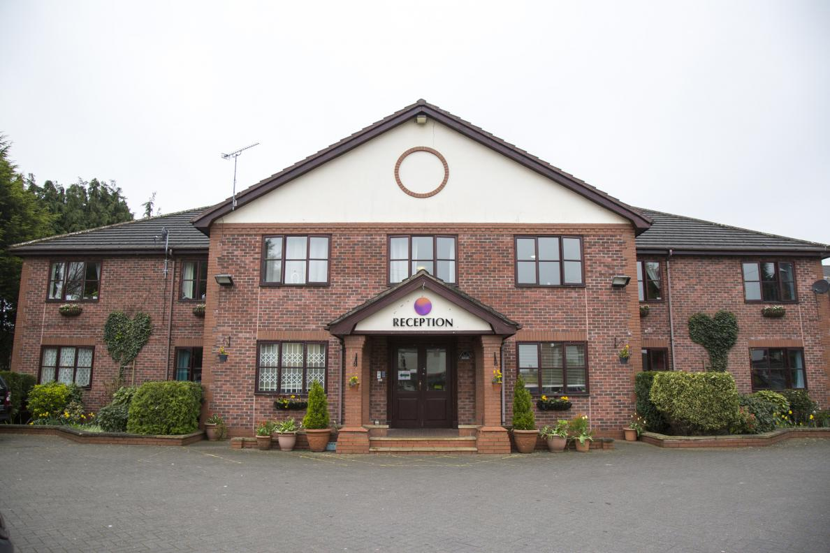 Cheshire nursing care homes by select healthcare group for Chesire house